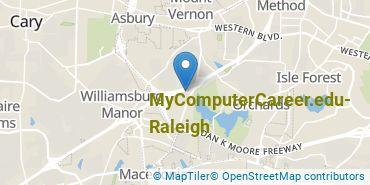 Location of MyComputerCareer - Raleigh