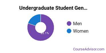 Undergraduate Student Gender Diversity at  MyComputerCareer - Raleigh