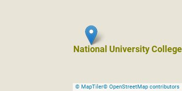Location of National University College