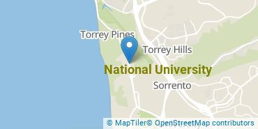 Location of National University