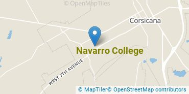 Location of Navarro College