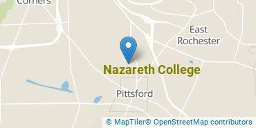 Location of Nazareth College