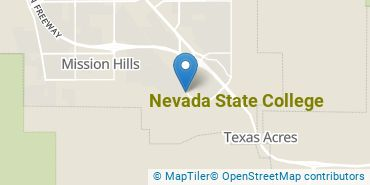 Location of Nevada State College