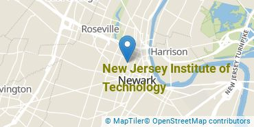 Location of New Jersey Institute of Technology