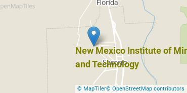 Location of New Mexico Institute of Mining and Technology