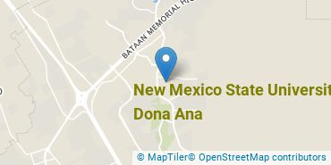 Location of New Mexico State University - Dona Ana