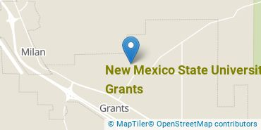 Location of New Mexico State University - Grants