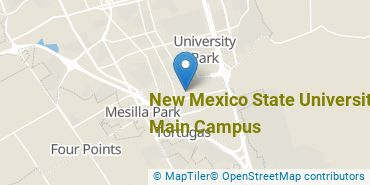 Location of New Mexico State University - Main Campus