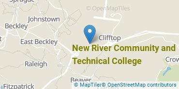 Location of New River Community and Technical College