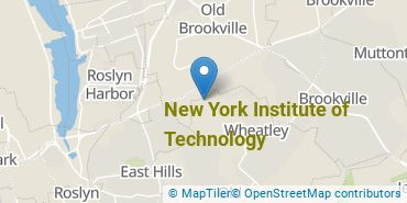 Location of New York Institute of Technology