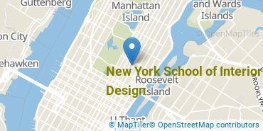 Location of New York School of Interior Design