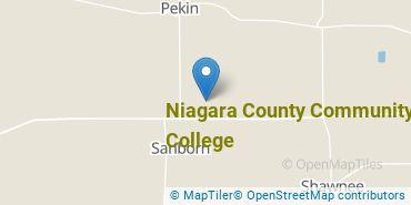 Location of Niagara County Community College