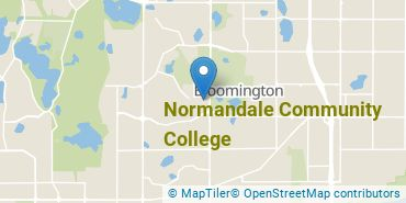 Location of Normandale Community College