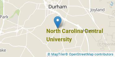 Location of North Carolina Central University