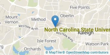 Location of North Carolina State University