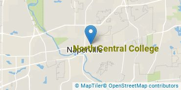 Location of North Central College