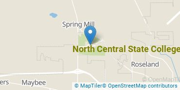 Location of North Central State College
