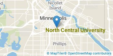 Location of North Central University