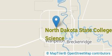 Location of North Dakota State College of Science