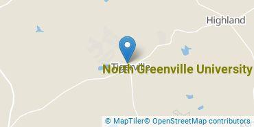 Location of North Greenville University