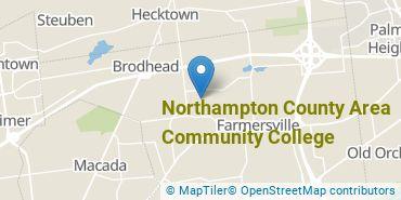 Location of Northampton County Area Community College