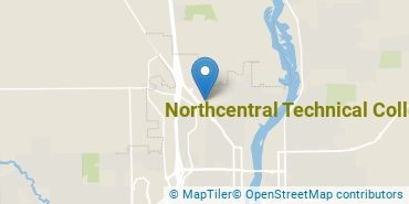 Location of Northcentral Technical College