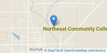 Location of Northeast Community College