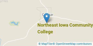 Location of Northeast Iowa Community College