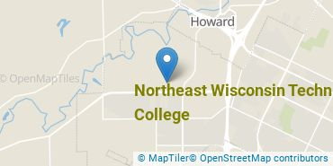 Location of Northeast Wisconsin Technical College