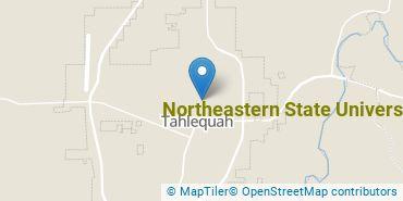 Location of Northeastern State University