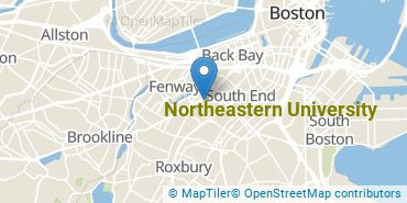 Location of Northeastern University