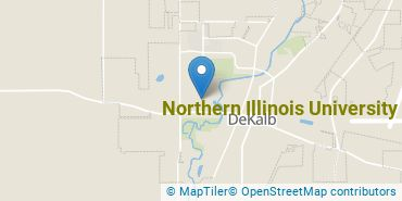 Location of Northern Illinois University