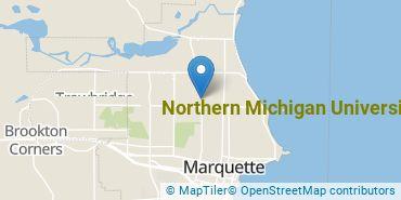 Location of Northern Michigan University