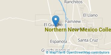 Location of Northern New Mexico College
