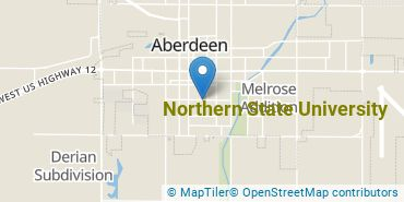 Location of Northern State University