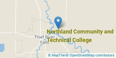 Location of Northland Community and Technical College
