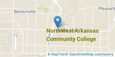 Location of NorthWest Arkansas Community College