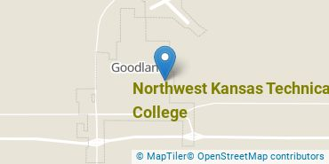 Location of Northwest Kansas Technical College