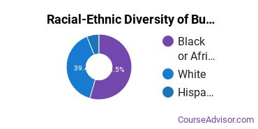 Racial-Ethnic Diversity of Business, Management & Marketing Majors at Northwest Mississippi Community College