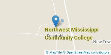 Location of Northwest Mississippi Community College