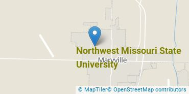 Location of Northwest Missouri State University