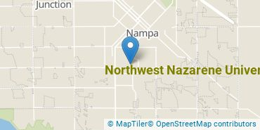 Location of Northwest Nazarene University