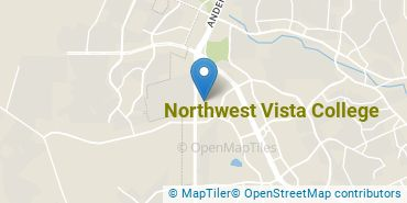 Location of Northwest Vista College