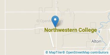 Location of Northwestern College