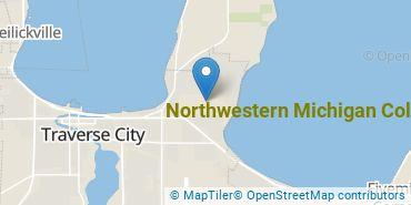 Location of Northwestern Michigan College