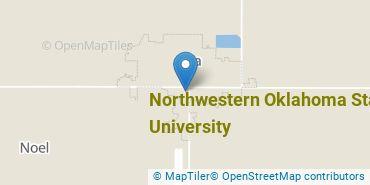Location of Northwestern Oklahoma State University