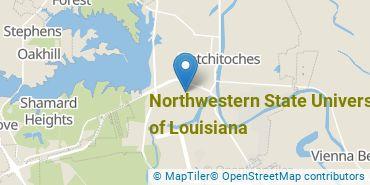 Location of Northwestern State University of Louisiana