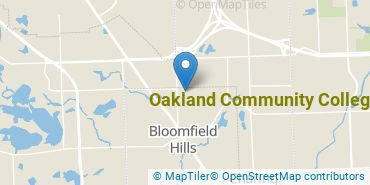 Location of Oakland Community College