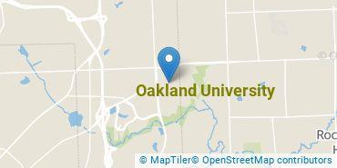 Location of Oakland University