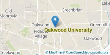 Location of Oakwood University